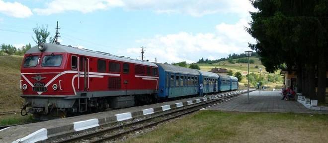 El tren del macizo de los Ródopes