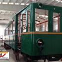 La Fundació FERROCAIB i ATM-Milano col·laboren en la restauració de l'automotor WUMAG 510