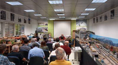 Presentación del libro del centenario del tranvía del Arenal